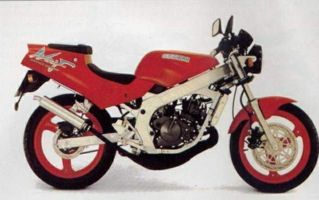 Suzuki RG125U Wolf technical specifications